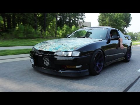 Boost and Personality-Nissan S14 240sx Review!