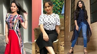 NewStylish dresses Collection of Jannat Zubair Rahmani(pankti in tu aashiqui)latest teenage fashion