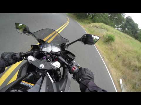 R3 Can it handle the twisties?