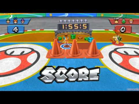 Mario Sports Mix Walkthrough [Part 7 – Hockey ~ Mushroom Cup]