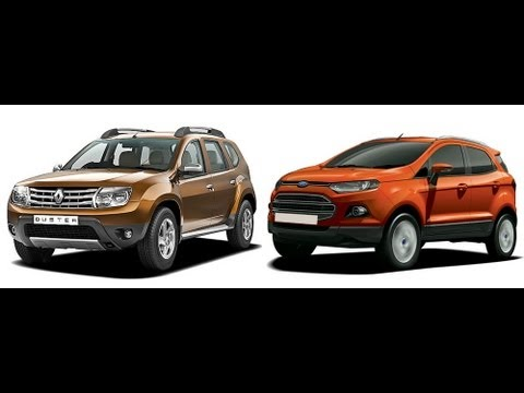 Compare Ford Ecosport Vs Renault Duster