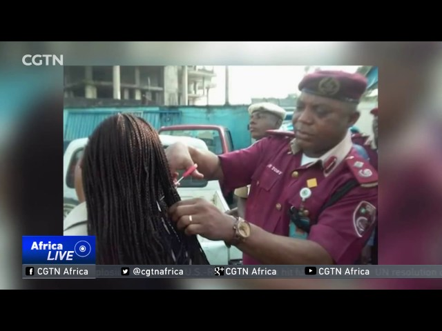 Video of commander cutting female officer's hair stirs reaction