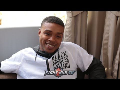 "Errol Spence laughs at Thurman ""He's losing the hunger, He gets Injured more then anybody I know"""