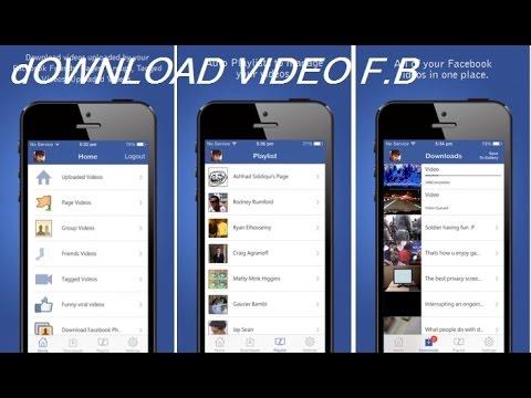 FaceBook-Vidéos : télécharger les vidéos de FaceBook directement sur votre iPhone
