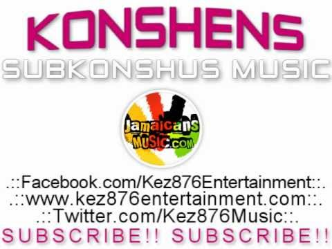 Konshens - Stop Sign [gyal A Bubble Part 2] [stop Sign Riddim] March 2012 video