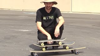 THE DIFFERENT TYPES OF SKATEBOARDS EXPLAINED