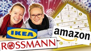 XXL ADVENTSKALENDER 2018 auspacken: Amazon Beauty vs. Rossmann vs. IKEA Welcher ist besser? Unboxing