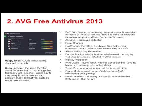Top 5 Best Antivirus Software 2013 [free & paid]
