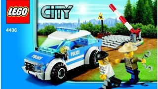 LEGO 4436 Patrol Car City Police (Instruction booklet)
