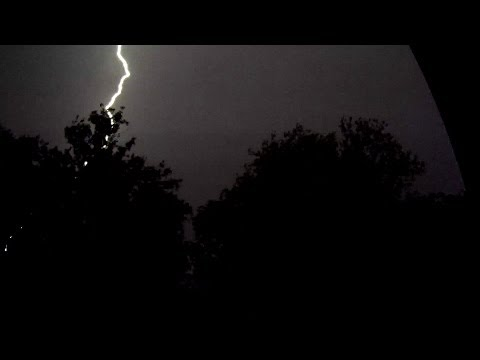 Bad Weather - Lightning Strikes   Lightning Storm   Thunder Storm video