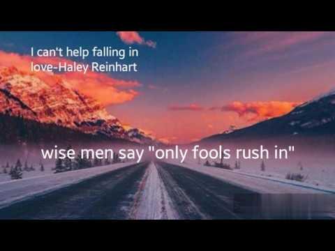 I Can't Help Falling In Love- Haley Reinhart Lyrics