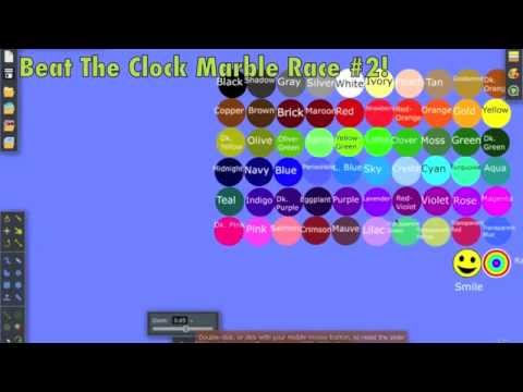 Beat The Clock Marble Race #2 1000 Sub Special