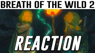 """The Legend of Zelda Breath of the Wild 2 LIVE REACTION w/ CHAT! """"THEY DID IT"""""""