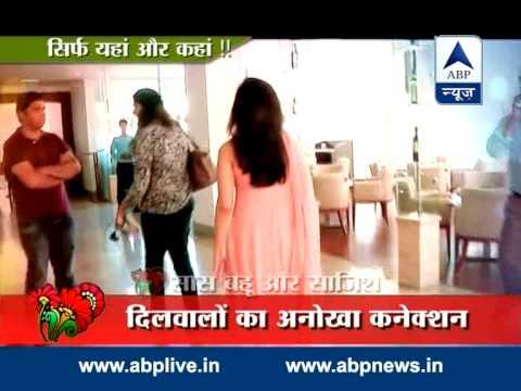 Jai and Ragini promote Dil Hai Chhota Sa in Delhi