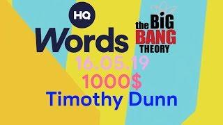 HQ Words - 16.05.19 - The Big Bang Theory