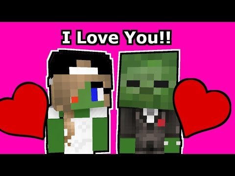 Monster School Kids Mobs: Royal Wedding Challenge - Minecraft Animation