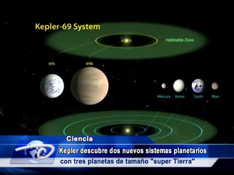 Dos nuevos sistemas planetarios con tres planetas de tamaño SUPER TIERRA
