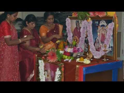 Arulmigu Melmaruvathur Adhiparasakthi, London Harrow Mandram - Vilakku Poojai 01 08 2012 video