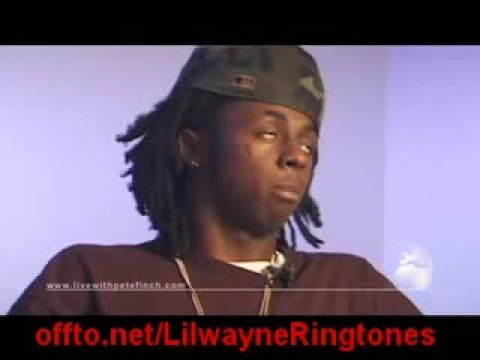 Video interview of Rapper Lil Wayne telling it like it is.. Video