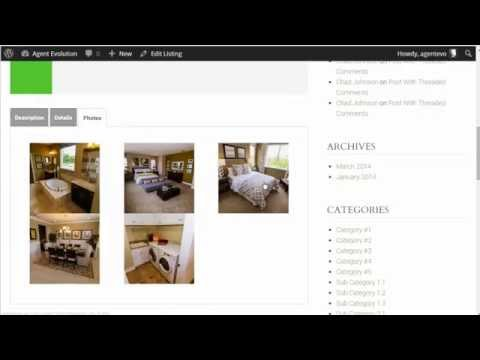 How to Add a Listing using the WP Listings Plugin