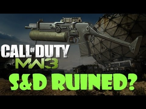 MW3: Search & Destroy RUINED by Sitrep Pro!!! - S&D PP90M1 Weapons Specialist on Dome