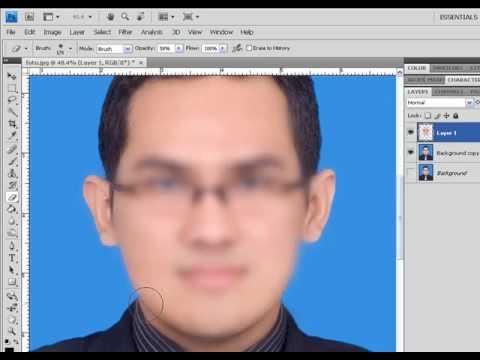 Tutorial Memperhalus Wajah menggunakan Photoshop