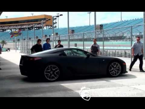 Street Kings   Car Reviews   Lexus LFA