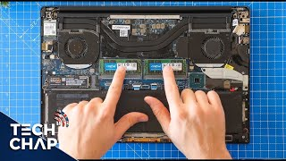 Upgrading my Dell XPS 15 9570! [SSD RAM & Wi-Fi]  | The Tech Chap