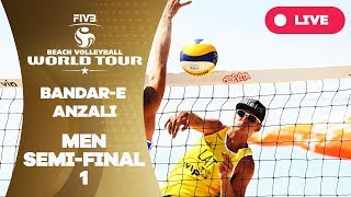Bandare Anzali 1Star 2018 FIVB Beach Volleyball World Tour Men Semi Final 1
