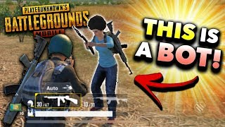 How to Spot a BOT in PUBG Mobile! (Tips and Tricks)
