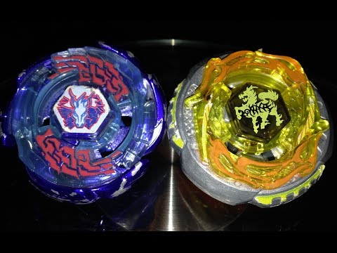 Beyblade Battle - Galaxy Pegasis W105R²F VS. Rock Giraffe R145WB