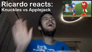 Ricardo Reacts Applejack Vs Knuckles