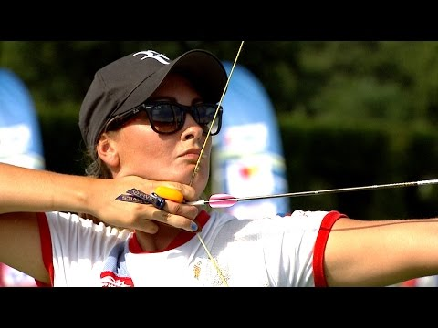 Recurve Women Individual Bronze- Stage 4 : WROCLAW - Archery World Cup 2014