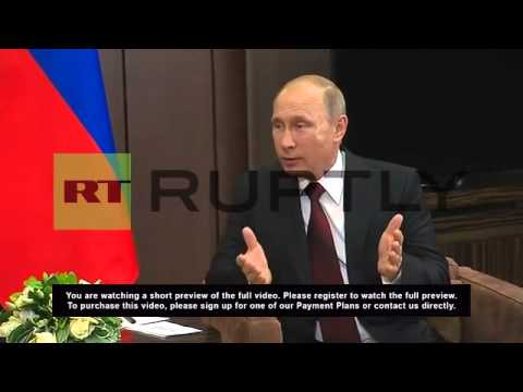 Russia: Putin and Abkhazia leader sign alliance agreement