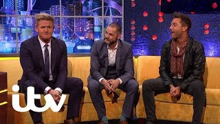 The Jonathan Ross Show | Gino D'Acampo's Terrible Driving | ITV