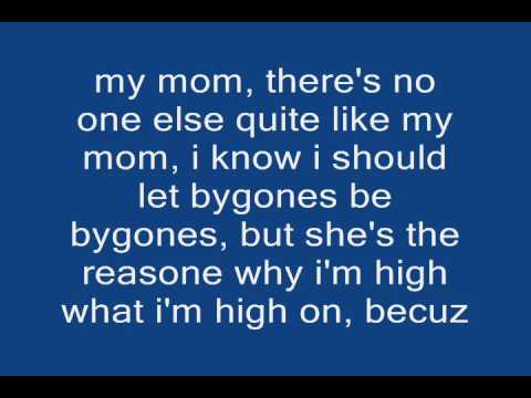 Eminem - my mom +lyrics