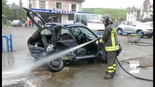 Clusone incidente mortale lungo la provinciale Antenna 2 TV 07102014