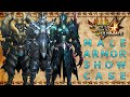 Youtube Thumbnail Monster Hunter 4 Ultimate: All Male Armor Sets (Low Rank, High Rank, G-Rank)