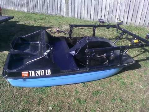 The Worlds Only Bowfishing Paddleboat YouTube