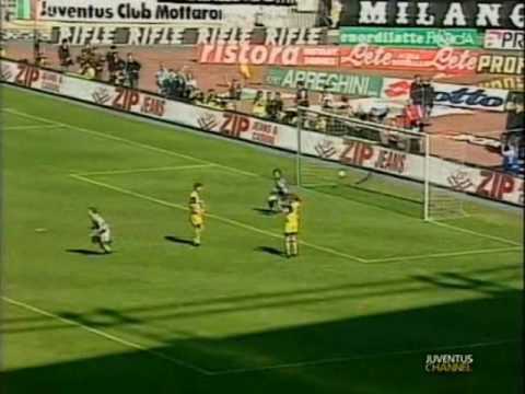 Juventus 4-0 Parma - Campionato 1994/95
