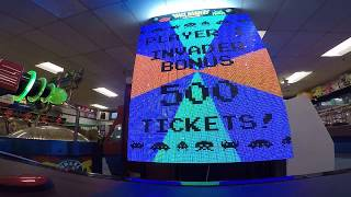 Space Invaders Frenzy Arcade Game JACKPOT WIN #16 at Salisbury Beach (From 5/15/18)
