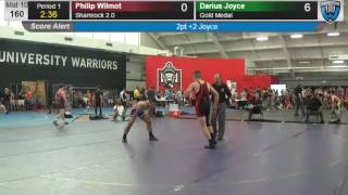 2102 Junior Men 160 Philip Wilmot Shamrock 2 0 vs Darius Joyce Gold Medal 4138278104