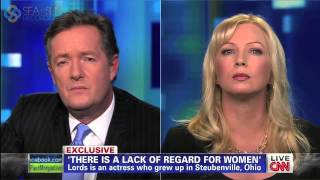 Traci Lords - Piers Morgan Live interview on CNN (March 14, 2013)