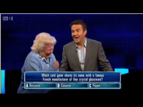 ITV1 The Chase - Contestant stitches up the chaser!