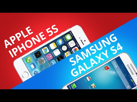 Comparativo: iPhone 5S ou Samsung Galaxy S4?