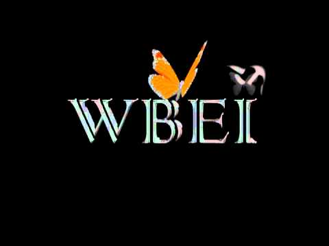 This logo for WBEI includes animation of a butterfly with sound for name branding products/company.