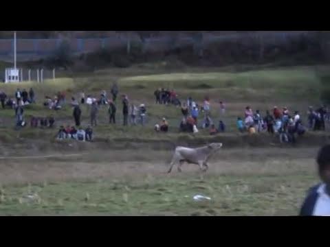 Corrida de Toros Paucarbamba Huancavelica 2011