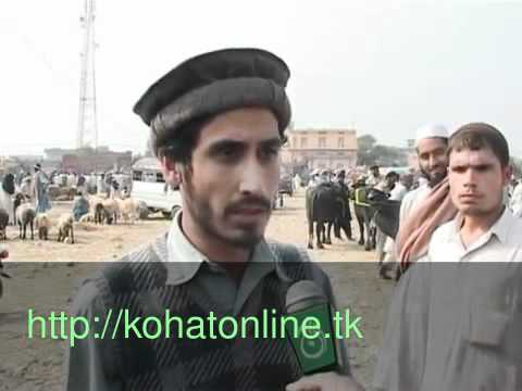Kohat News Maal Mandy Eid-ul-aza video