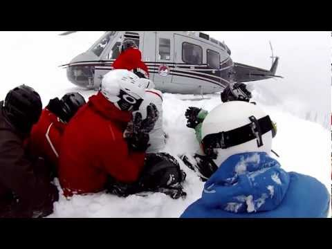 Heli Skiing - December 22, 2012