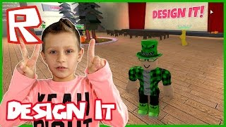 First Place in Design It / Roblox